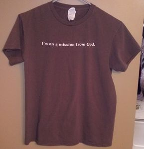 Mission from God- Funny Tshirt